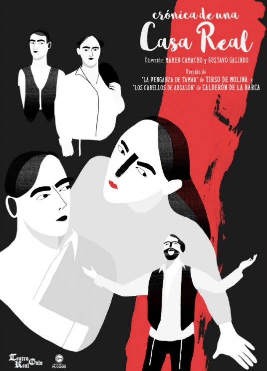 Crónica de una Casa Real (Basado en La venganza de Tamar y Los cabellos de Absalón) - Tirso de Molina y Calderón de la Barca - Olmedo Clásico 2016