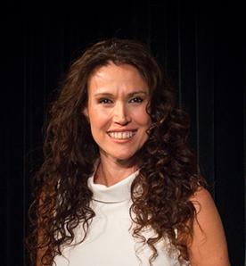 Mónica D'Agostino. Actriz de la Compañía Argentina de Teatro Clásico