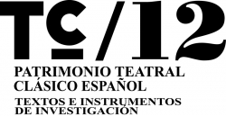 TC / 12 Patrimonio Teatral Clasico Español Textos Instrumentos Investigacion