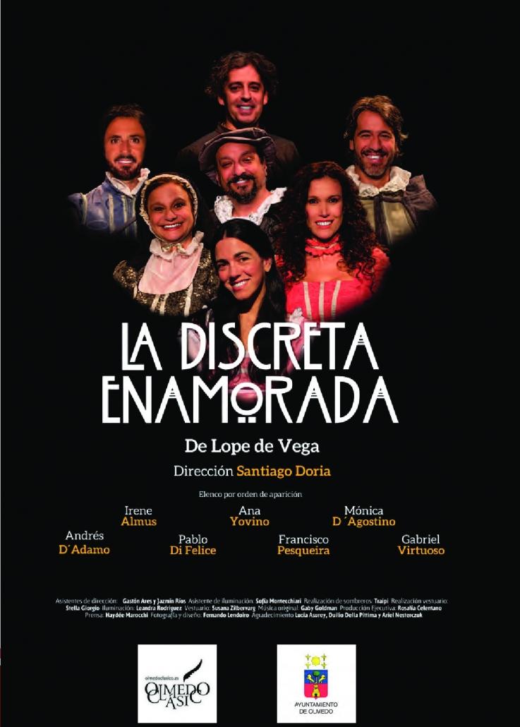 Olmedo Clásico - Boletín de espectáculo - 2019 -La discreta enamorada